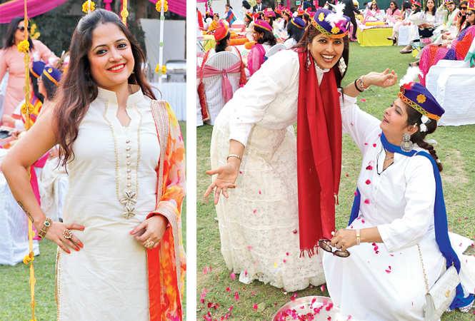 Sneha (R) Surekha Singh and Roshni Hirani (BCCL/  Unmesh Pandey)