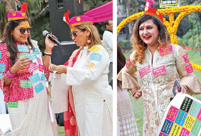 Anu Melhotra and Bharati Rawatani (R) Anamika Banerjee  (BCCL/  Unmesh Pandey)