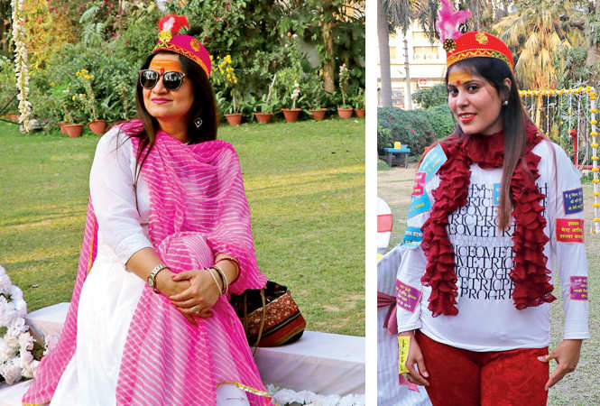 Sonal Agrawal and Anjali Changani    (BCCL/  Unmesh Pandey)
