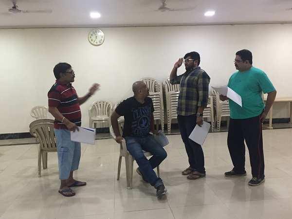 sharvari lohokare: Rehearsals begin for Marathi play Gharaat