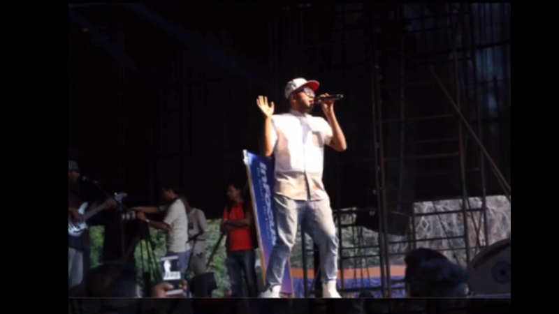 Benny Dayal performs for the 'best crowd ever' at SRCC