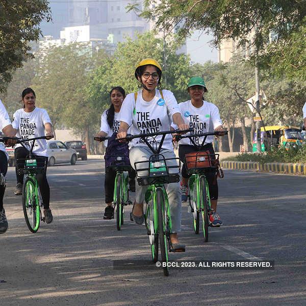 Earth Hour in Gurgaon