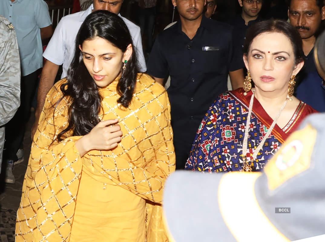 Nita Ambani and Shloka Mehta