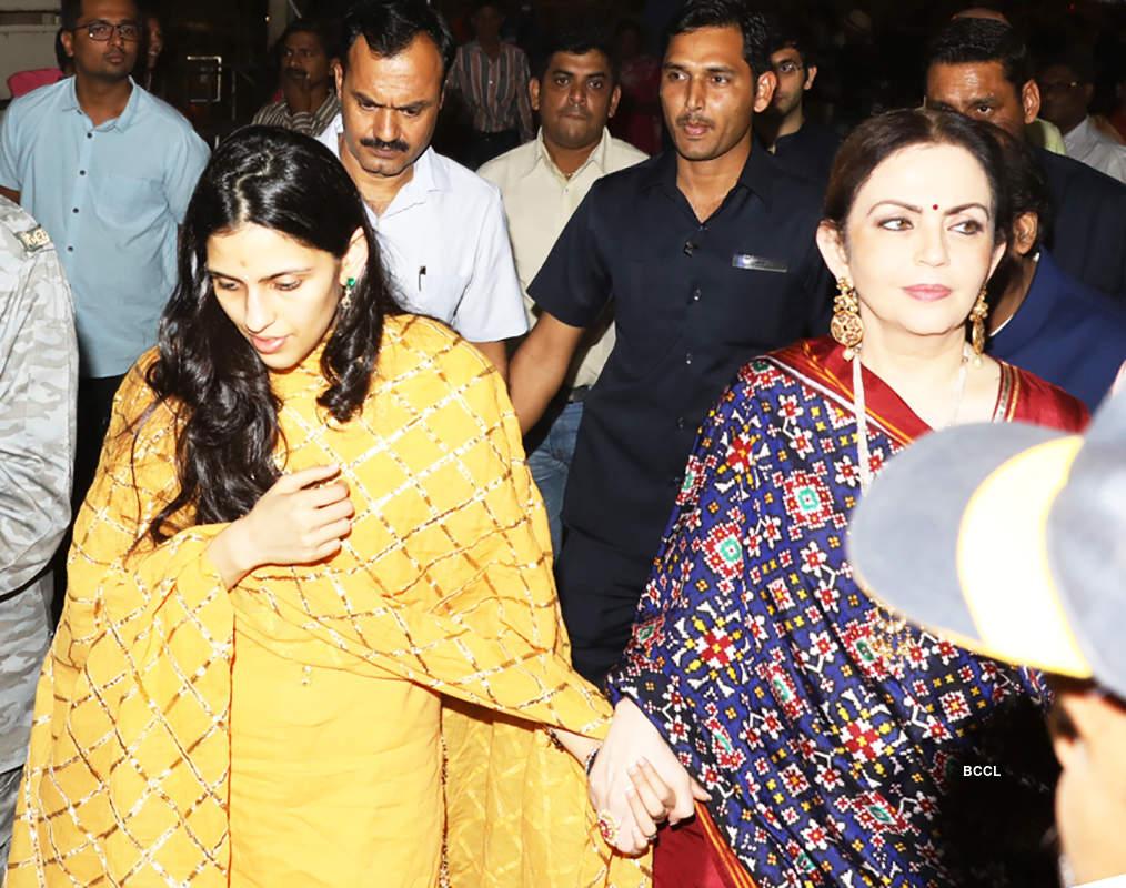Nita Ambani with daughter-in-law Shloka Mehta