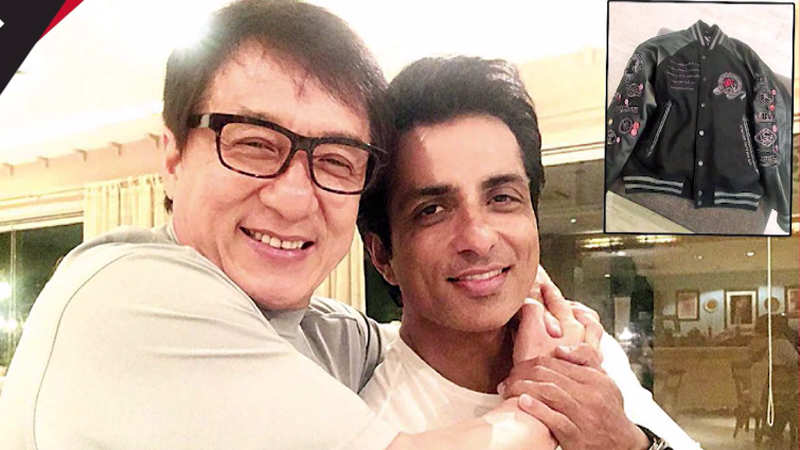 Sonu Sood receives special gift from Jackie Chan