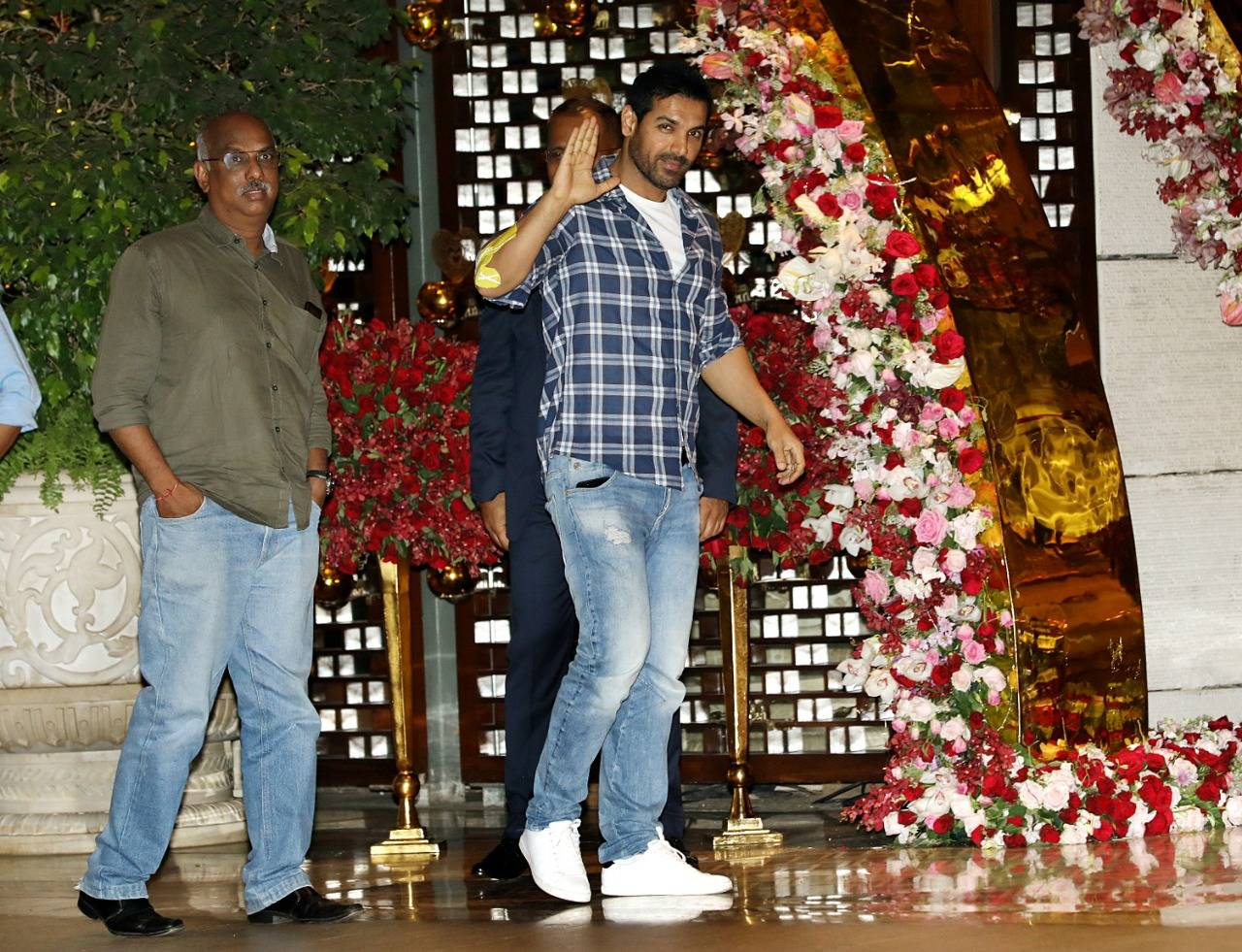 Akash Ambani Engagement party pics