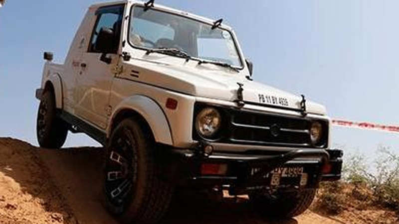 Cars and chai at Off-Road Adventure Zone in Gurgaon