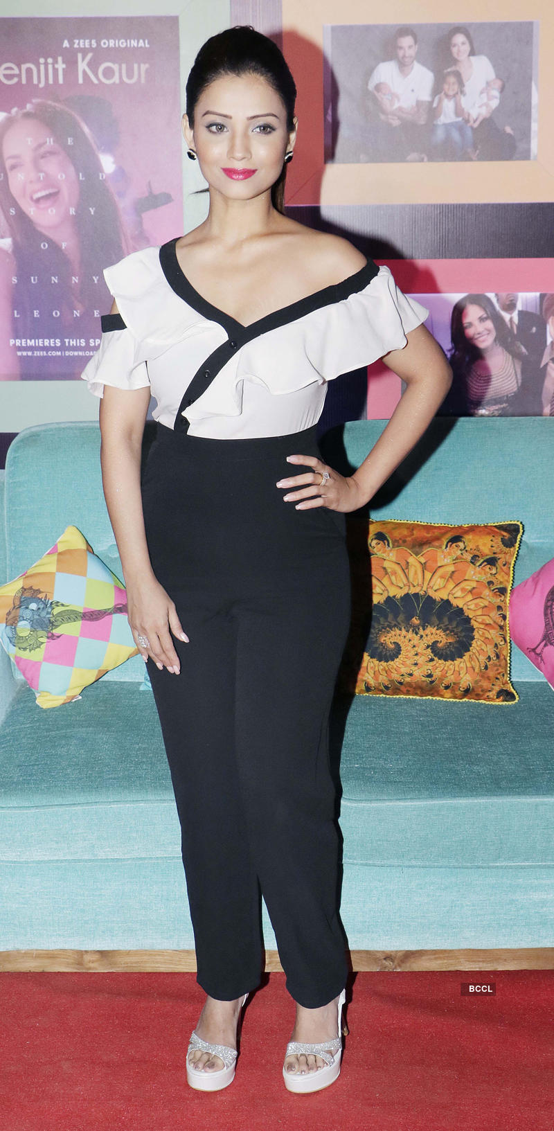 Sunny Leone attends tha launch of ZEE5 Originals