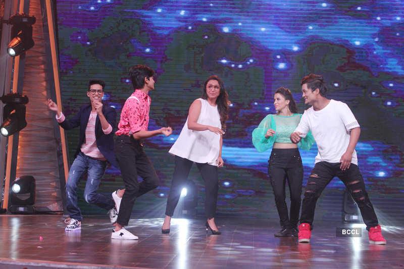 Dance India Dance Li'l Masters Season 4: On the sets