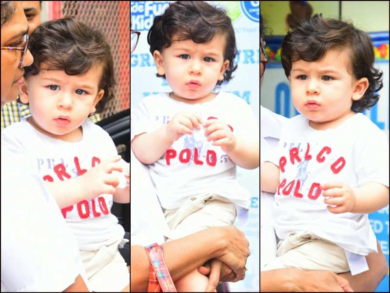 Taimur Ali Khan Spotted Sporting A New Hairdo