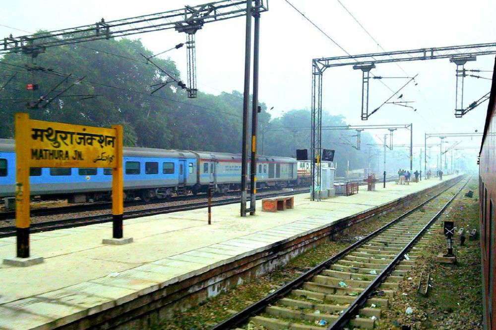 Image result for mathura railway station