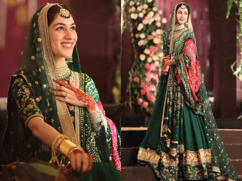 54ff5c0cc6c65 This Sabyasachi bride from Pakistan will make you ditch red on your wedding