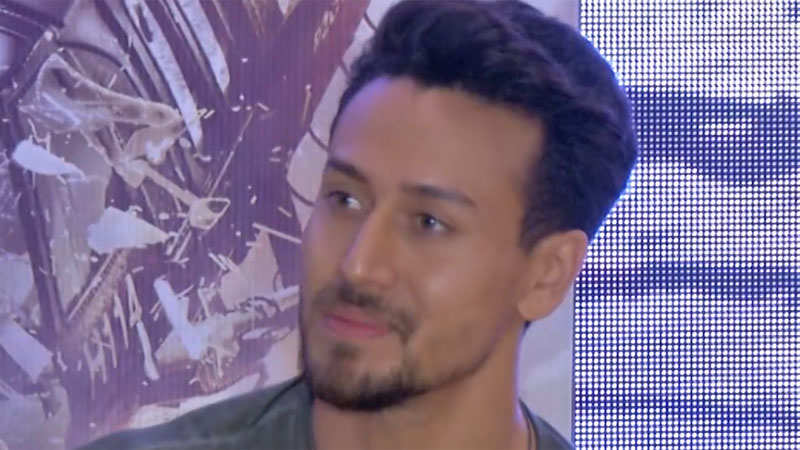 Tiger Shroff reveals how his action scenes leave Jackie Shroff worried