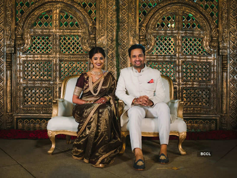 Sushruthi Krishna's wedding looks like a dream