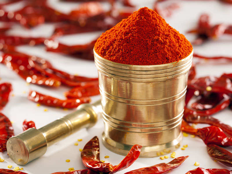 Here's how you can make 'safe' red chilli powder at home   The Times of  India