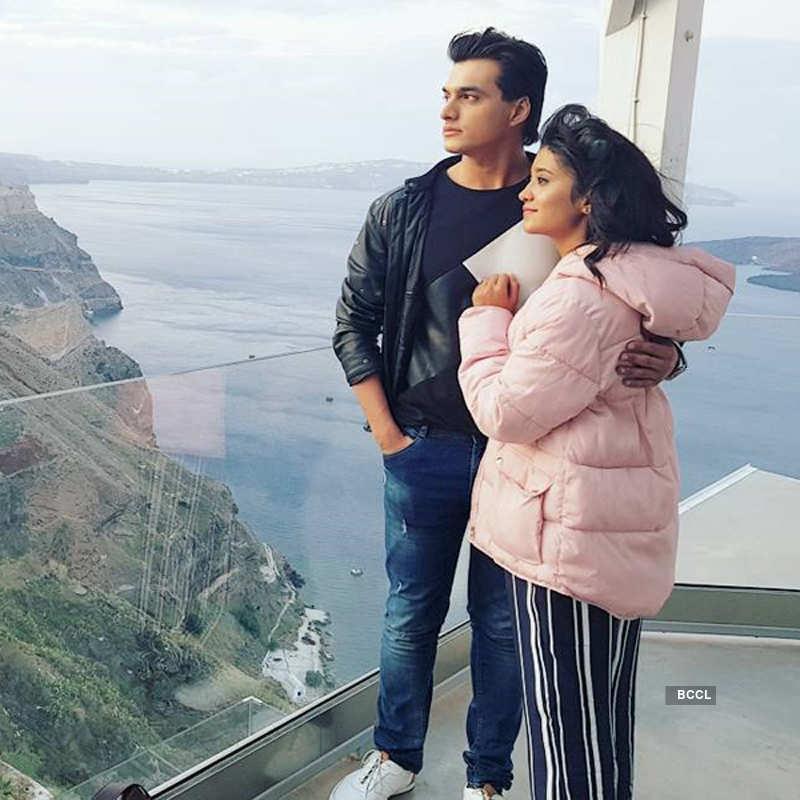 I got lucky to have a co-star like Shivangi: Mohsin Khan