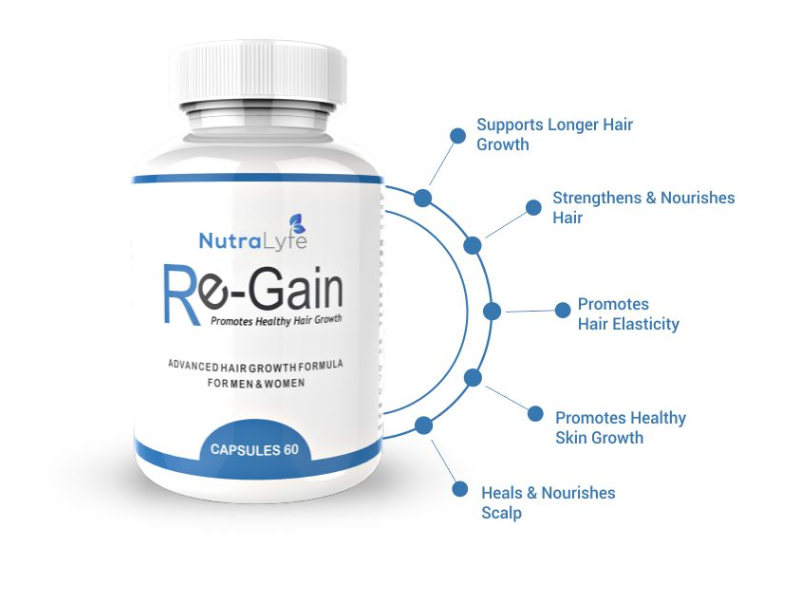 8 Reasons Why Nutralyfe Regain Is 1 Solution To Your Hair