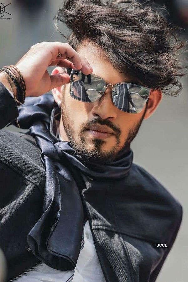 Jitesh Singh Deo's trendy photoshoot