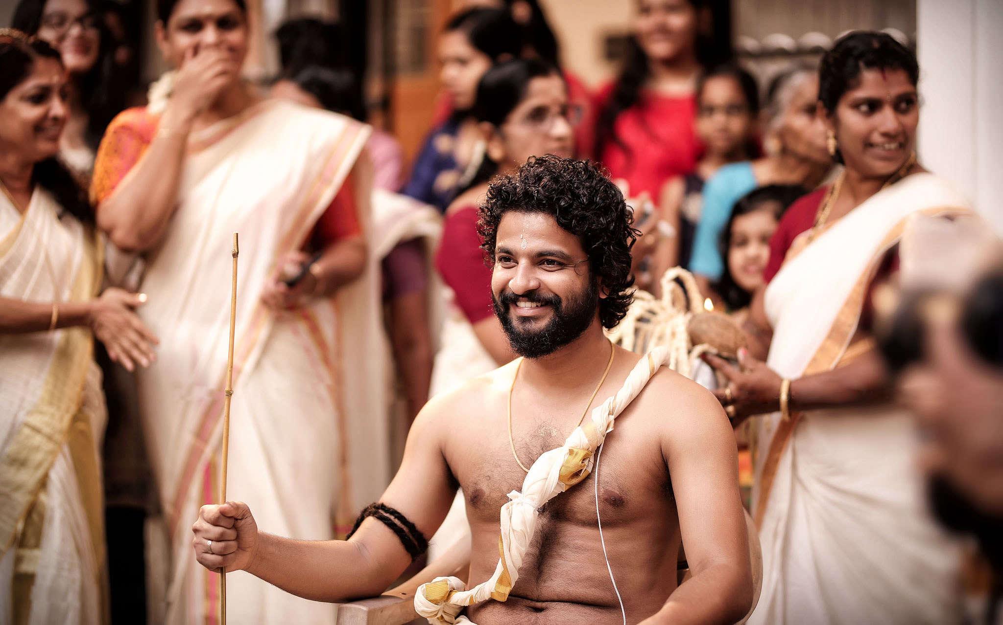 Neeraj Madhav Marriage Images