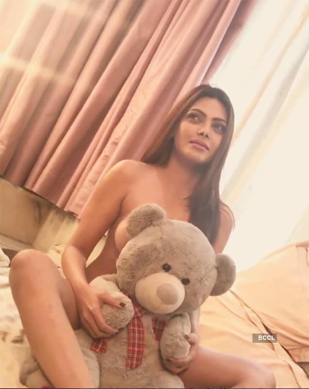 Sherlyn Chopra's sultry shoot
