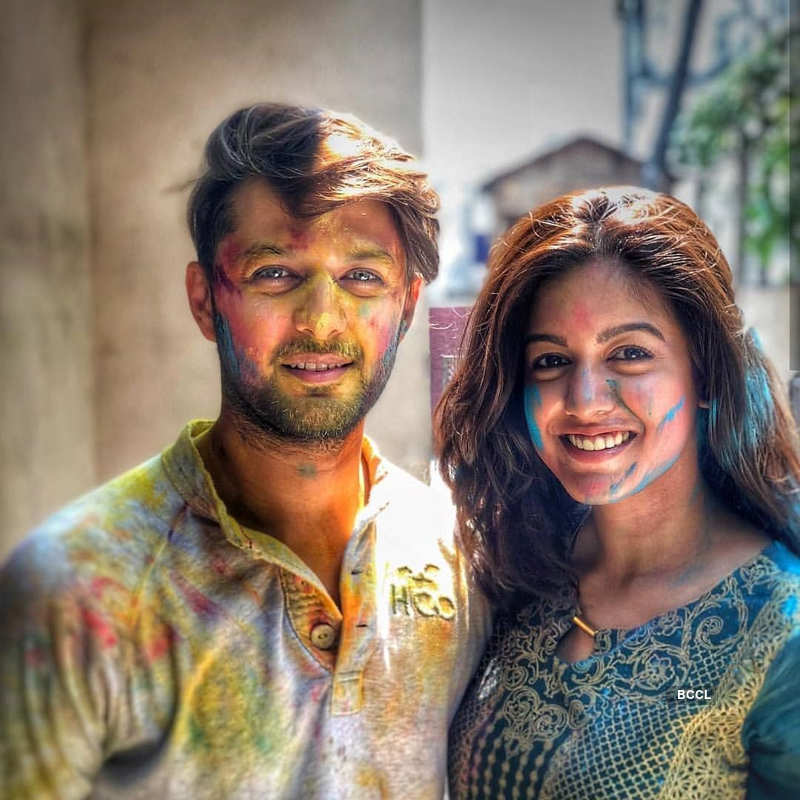 Vatsal Seth shares a passionate lip-lock with wife Ishita Dutta in Paris
