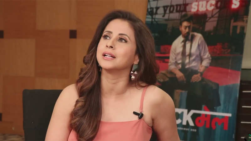 Urmila Matondkar talks about her Bollywood comeback with 'Blackmail' song 'Bewafa Beauty'