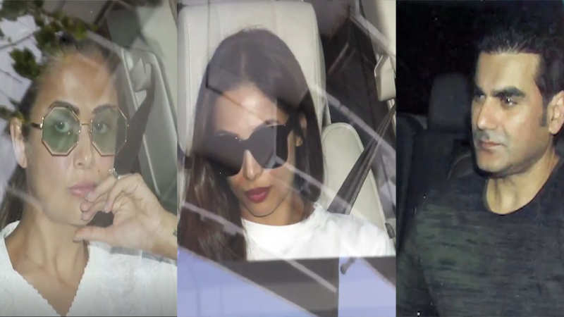 Blackbuck poaching case: Malaika, Amrita and friends visit Khan family post Salman Khan verdict