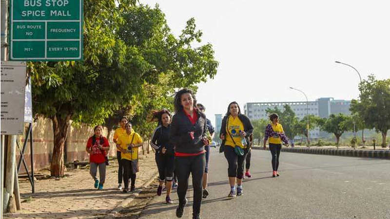 Noida women welcome World Health Day with this fitness run