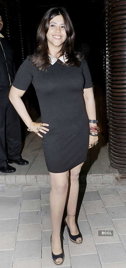 Celebs attend Jeetendra's 76th birthday party