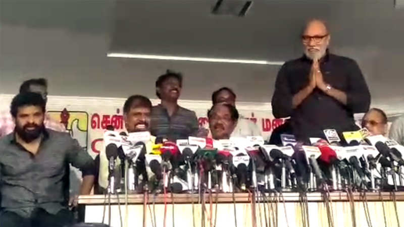 Actor Sathyaraj talks about IT raid threat he received