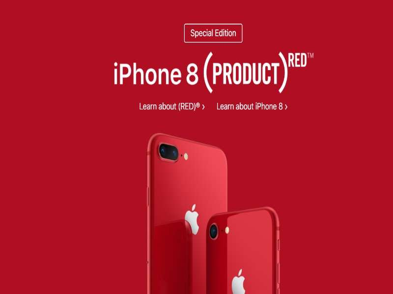 Apple Iphone 8 Iphone 8 Plus Product Red Variants To Go On Sale