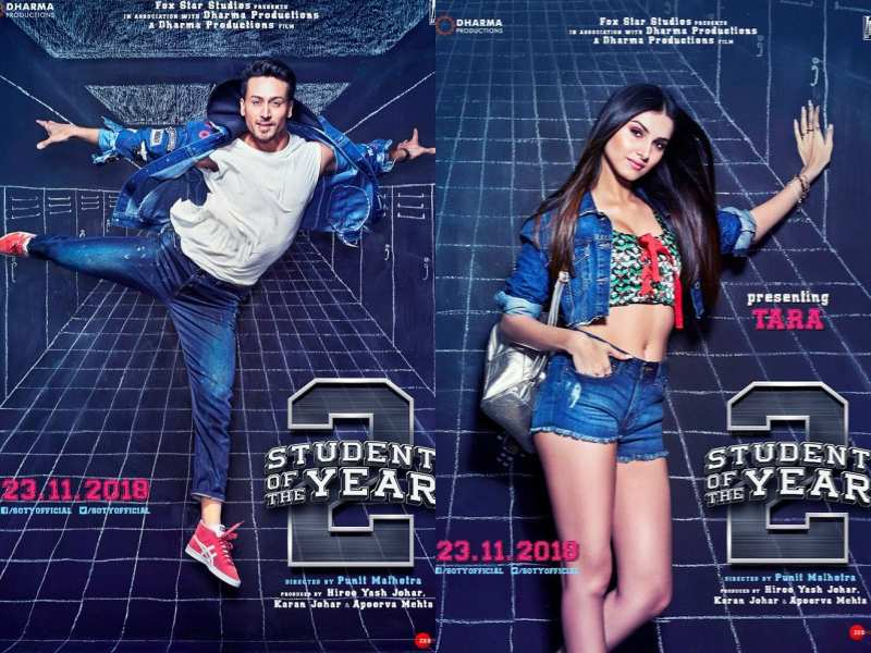 'Student of the Year 2': Welcome the first two students of Saint Teresa's class of 2018- Tiger Shroff and Tara Sutaria