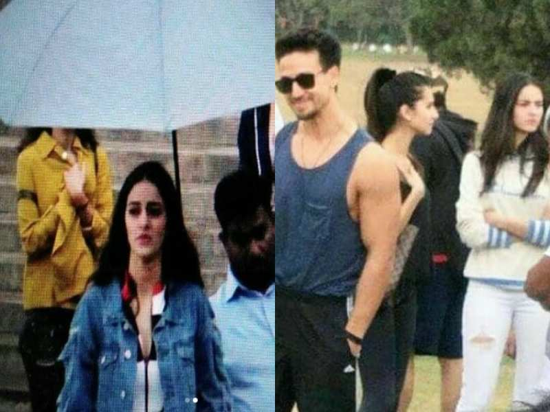 Photos: Ananya Panday spotted on the sets of 'Student of the Year 2' in Dehradun