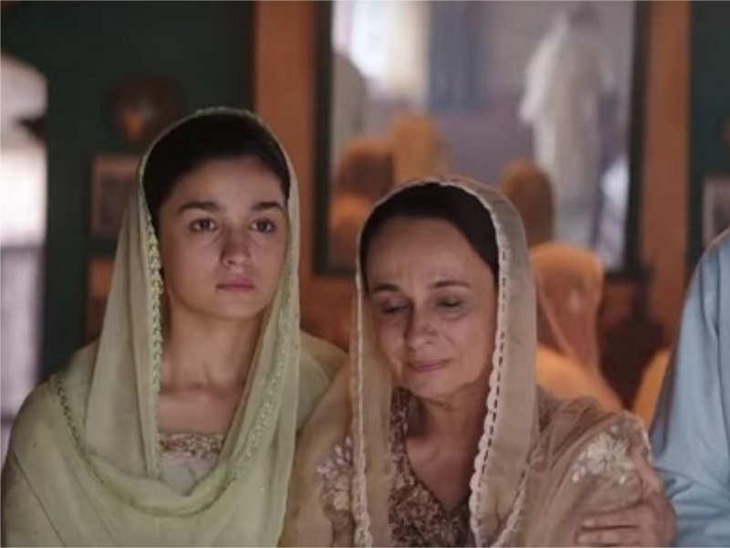 Did you notice Alia Bhatt's mother Soni Razdan in 'Raazi' trailer?