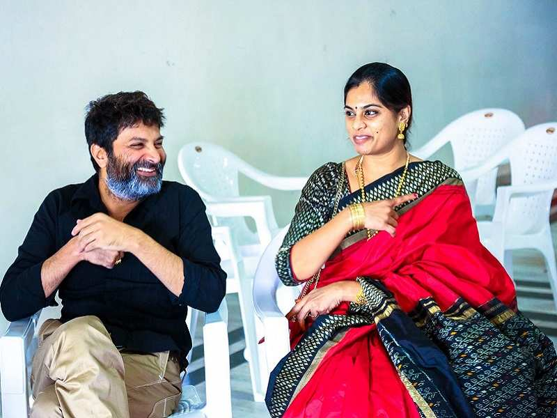 Image result for trivikram and wife