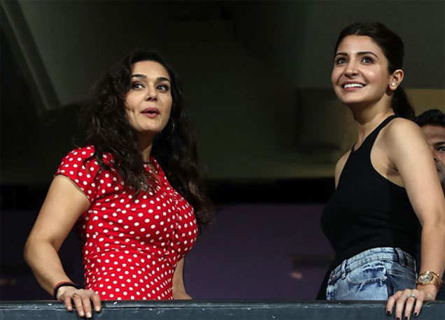 Preity Zinta and Anushka Sharma
