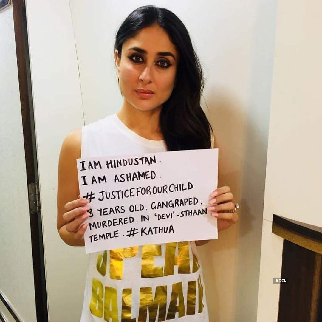 Bollywood demands justice in Unnao, Kathua rape cases