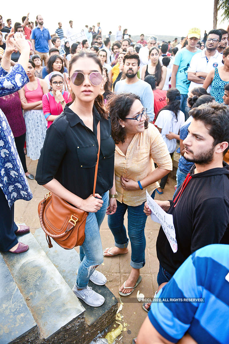 Bollywood stars protest, demand swift justice for Kathua and Unnao rape victims