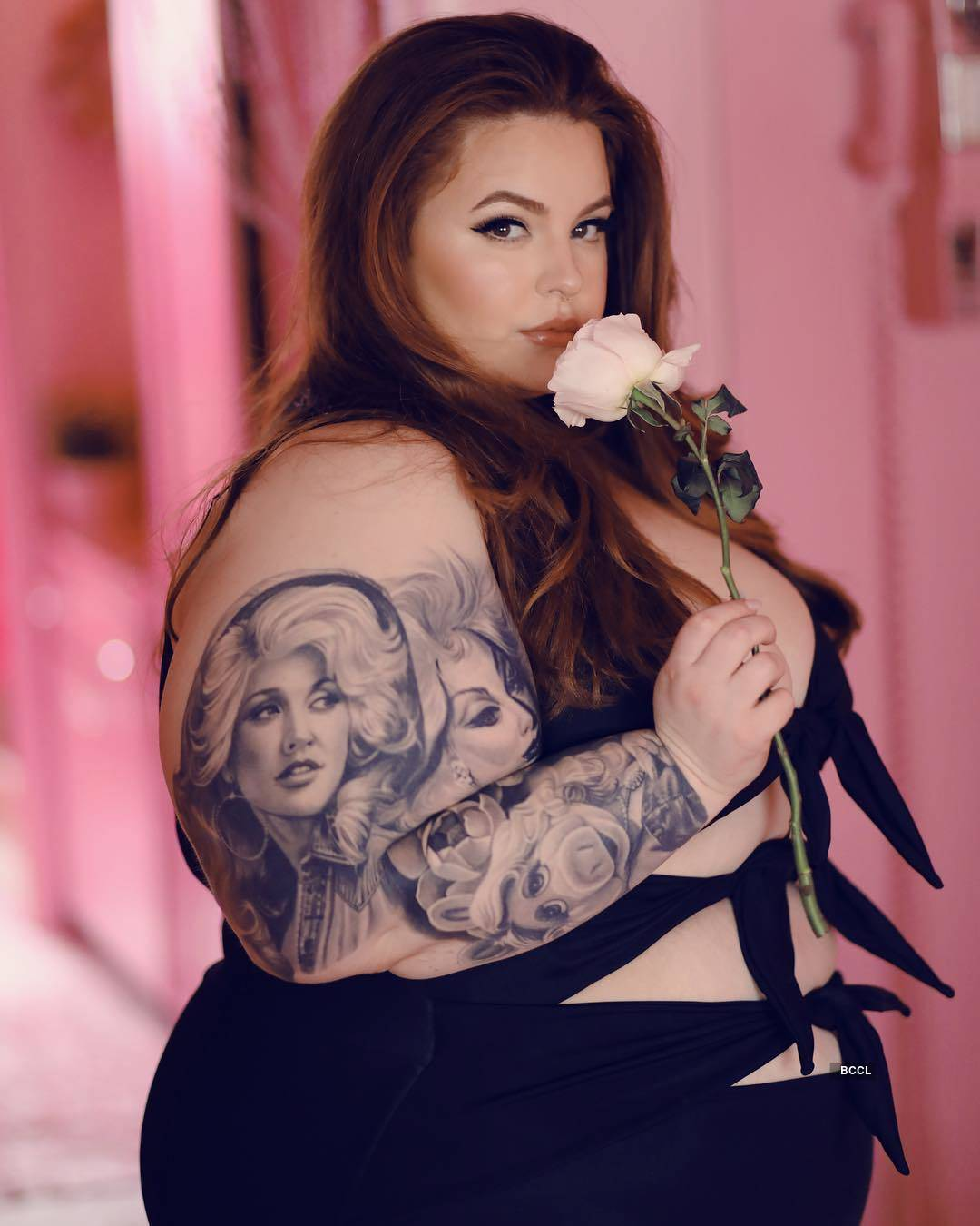 Author of 'Fat Girl' Tess Holliday changes the perception of plus size models