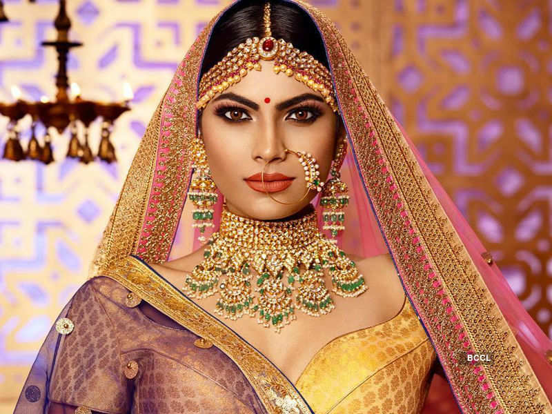 Lopamudra Raut shoots for a jewellery brand