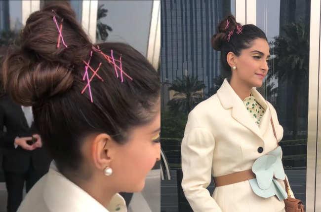 Sonam Kapoor hair