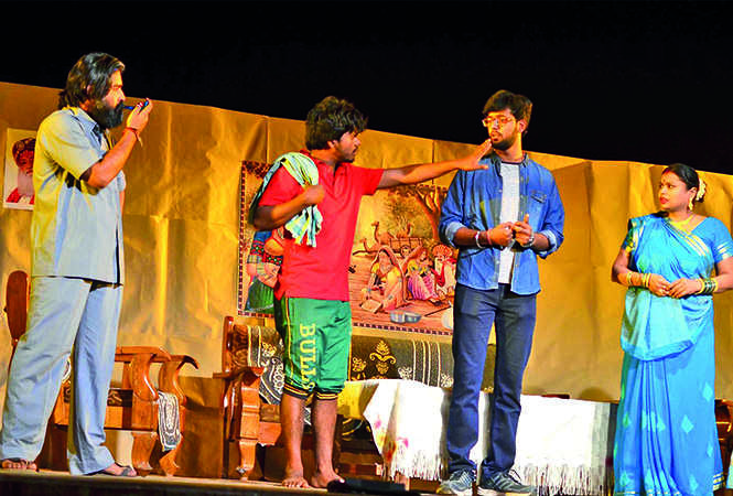 A scene from the play (BCCL/ Pankaj Singh)