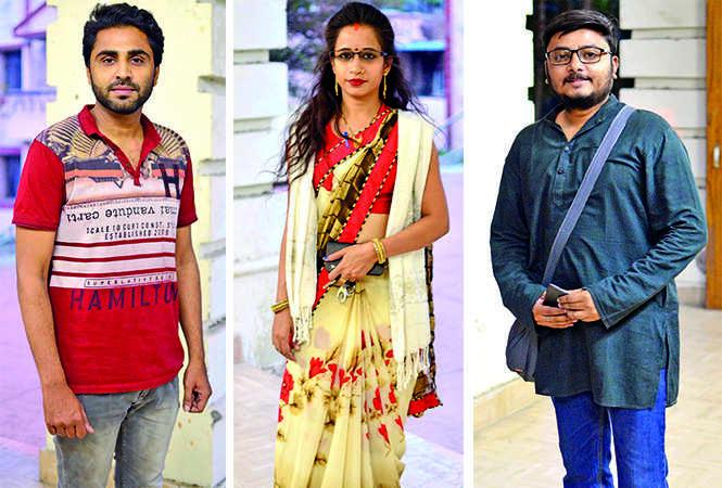 (L) Ali (C) Ishi (R) Krishan (BCCL/ Pankaj Singh)