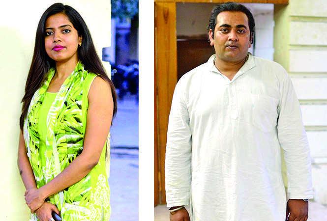(L) Ruchi (R) Varun (BCCL/ Pankaj Singh)