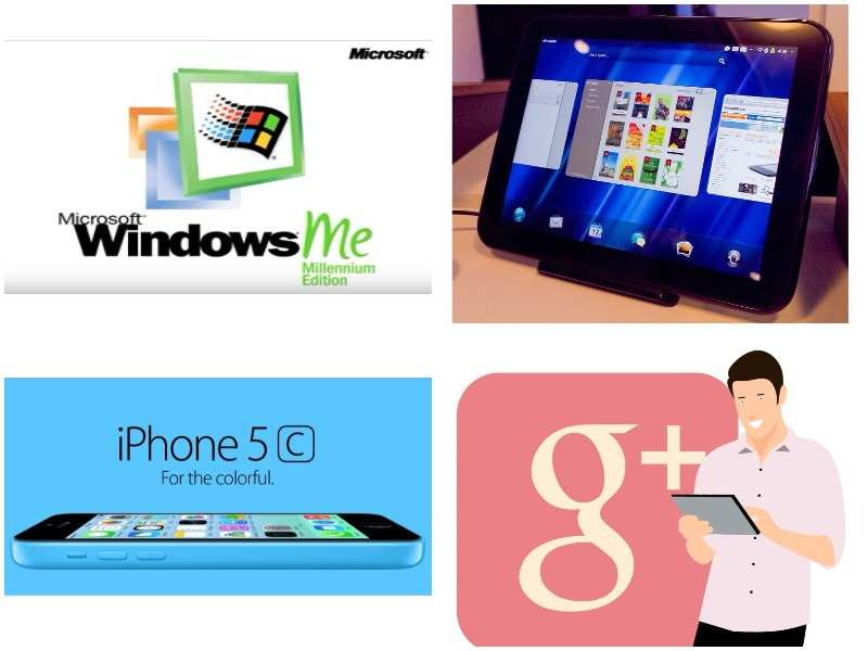 20 biggest flops from Apple, Google, Microsoft and others