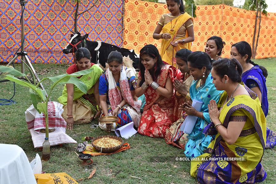 Rangoli Bihu celebration