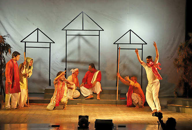 A scene from the play Batohi (BCCL/ Arvind Kumar)