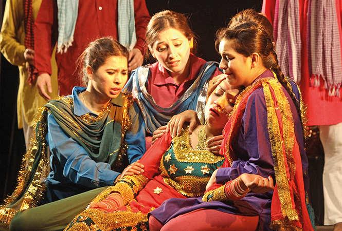 A scene from the play Ghumayee (BCCL/ Arvind Kumar)