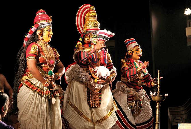 A scene from the play Jatayuvadham (BCCL/ Arvind Kumar)