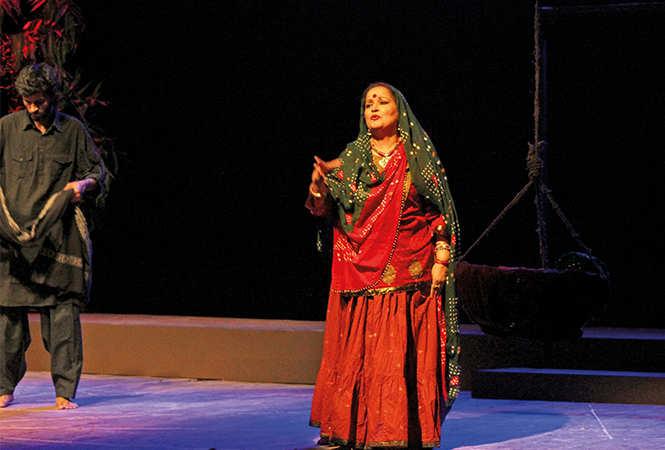 A scene from the play Santati (BCCL/ Arvind Kumar)